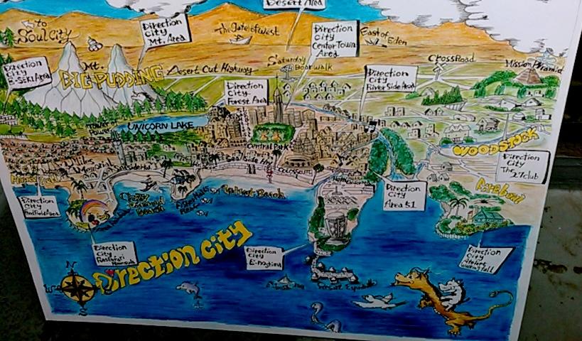 ディレクションシティ鳥瞰図